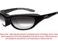 WILEY X – AirRage LA Grey Light Adjusting Lens/Gloss Black