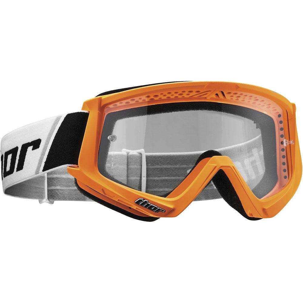 THOR COMBAT FLO ORANGE/BLACK GOGGLES